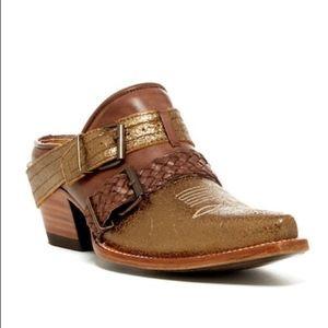 """Donald J. Pliner """"Carya"""" Leather Mule"""